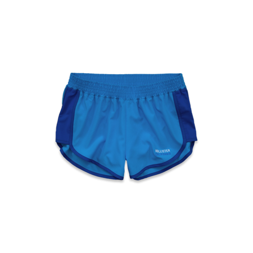 Girls Hollister Sport Running Shorts