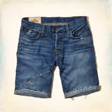 Hollister Classic Fit Jean Shorts