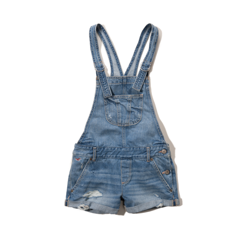 Girls Hollister Overalls
