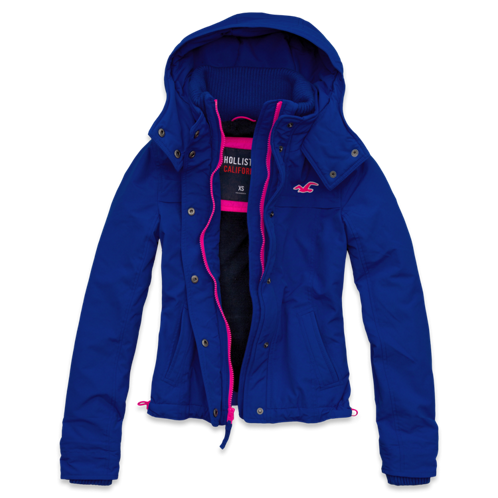 Girls Hollister All-Weather Jacket