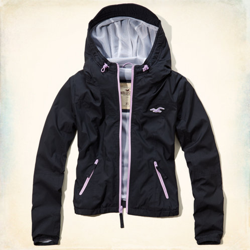 Girls El Porto Beach Windbreaker Jacket | Girls Clearance ...