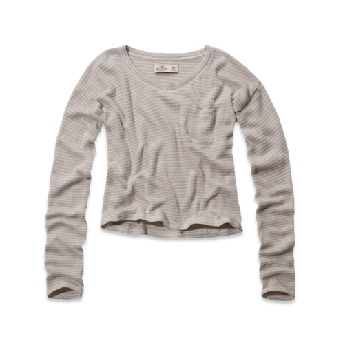 Girls Los Trancos Drapey Knit Top