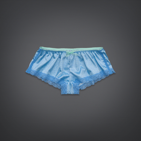 Girls Satin Flirty Short Undie