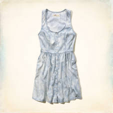 Ventura Beach Chambray Dress