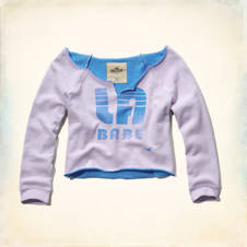 Monarch Beach Crop Sweatshirt