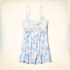 San Buenaventura Babydoll Dress