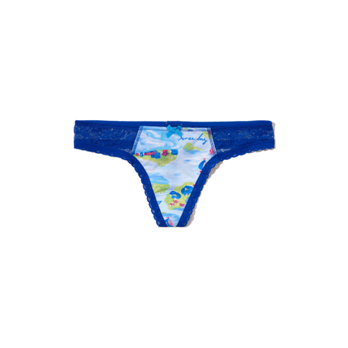 Girls Supersoft Thong Undie