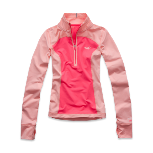 Girls Hollister Sport Half-Zip Pullover