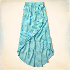 Hollister Wrap Maxi Skirt