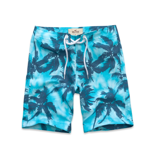 Guys Pier View Beach Swim Shorts