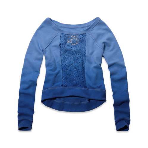 Girls Picnic Beach Sweatshirt