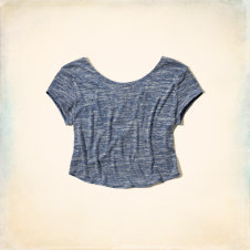 Wheeler Springs Drapey Knit T-Shirt