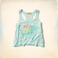 Tide Beach Crop Tank