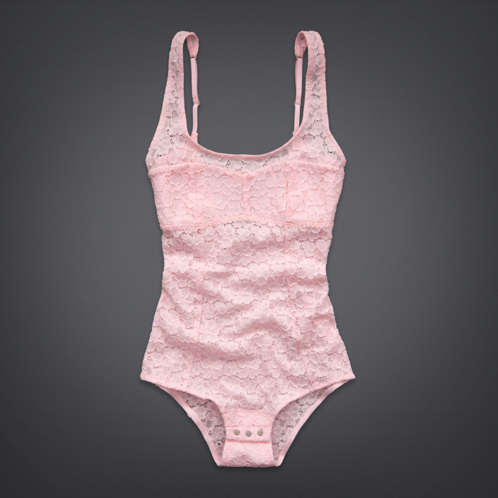 Girls Lace Body Suit