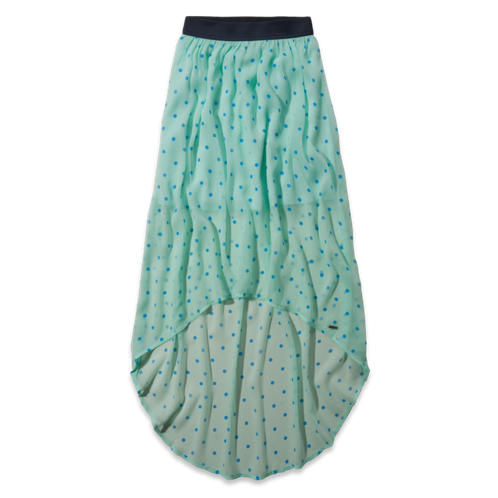 Girls Hollister Natural Waist Maxi Skirt
