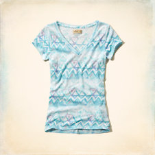 Little Harbor V Neck T-Shirt