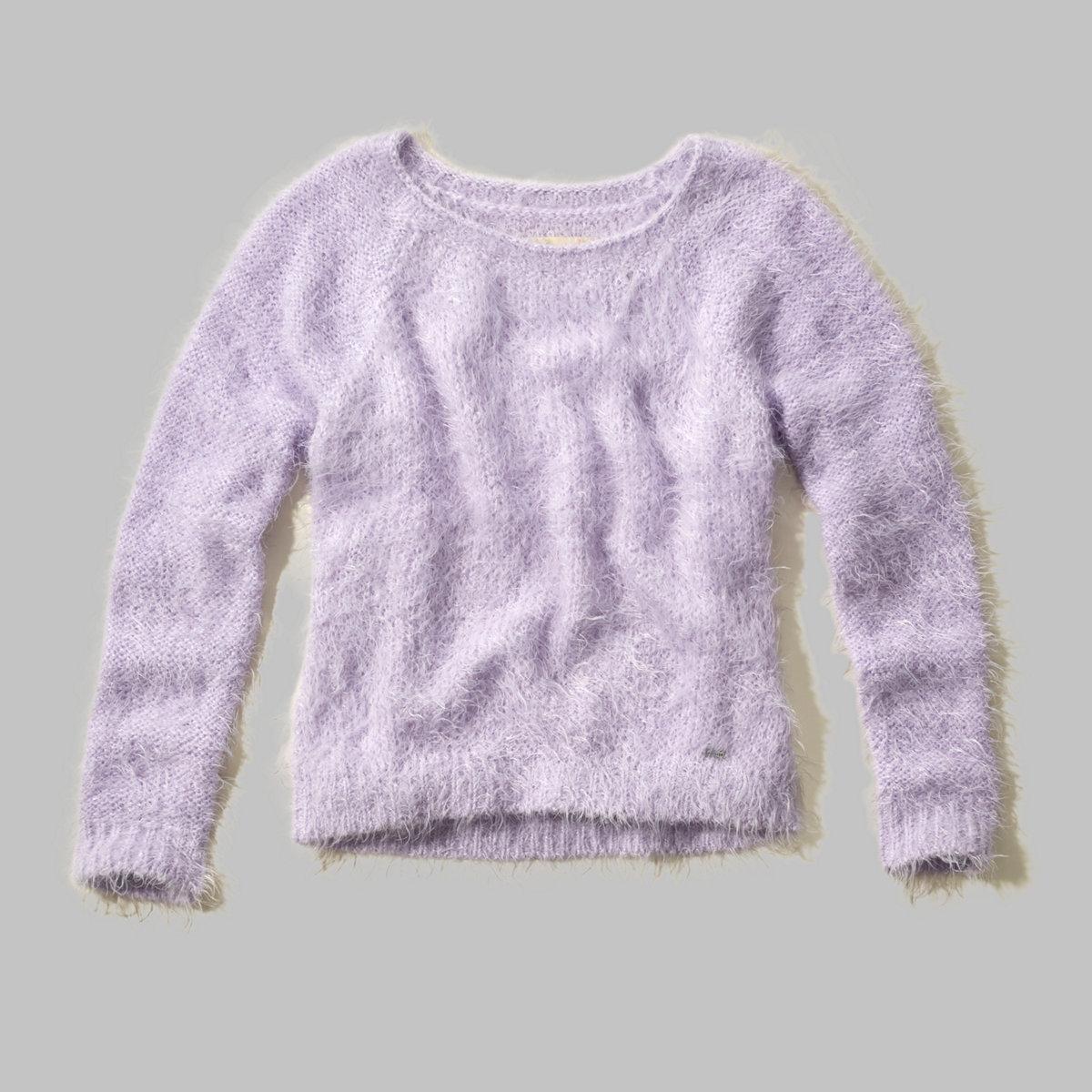 Bay Street Fuzzy Eyelash Sweater