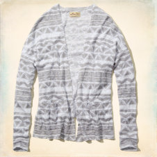 Royal Palms Beach Drapey Knit Cardigan