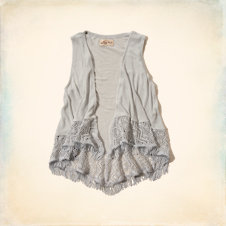 Sunset Cliffs Drapey Knit Vest