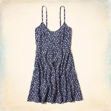 Victoria Beach Babydoll Dress