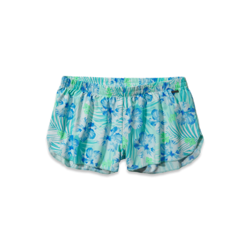 Girls Printed Swim Shorts