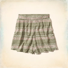 Hollister High Rise Culotte Shorts