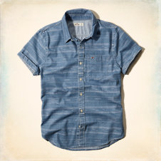 La Costa Aztec Denim Shirt
