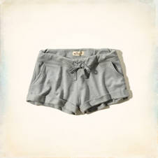 Hollister Drapey Roll-Up Shorts