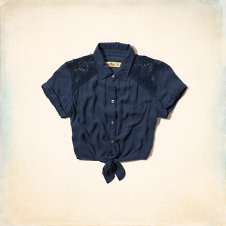 Newport Peninsula Cropped Shirt