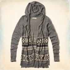 Royal Palms Beach Hoodie Sweater
