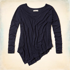 Imperial Beach Drapey Knit T-Shirt