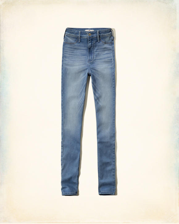 Hollister Blake Natural Waist Jeggings | HollisterCo.com