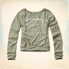 Shelter Islands Drapey Sweatshirt