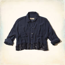 El Morro Cropped Shirt