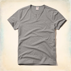 Boomer Beach Notch Neck T-Shirt