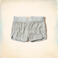 Hollister Crochet Low Rise Short-Shorts