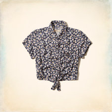 Surfers Knoll Cropped Shirt