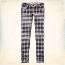 Hollister Plaid Chinos