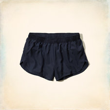 Hollister Curved Hem Athletic Shorts