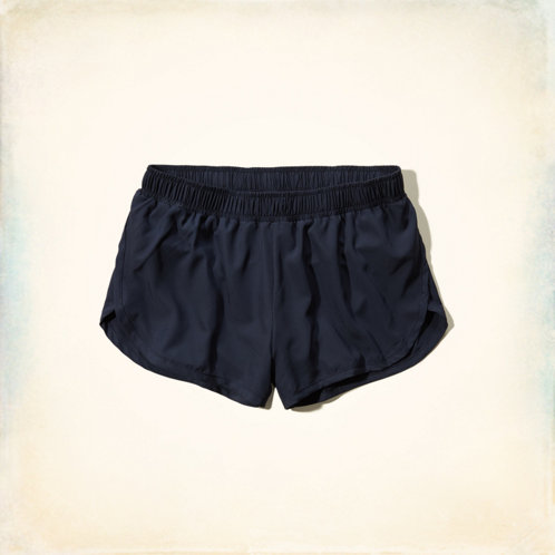 Hollister Curved Hem Shorts Hollister Curved Hem Athletic