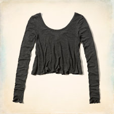Pelican Point Drapey Knit T-Shirt
