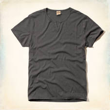 Manhattan Beach Notch Neck T-Shirt