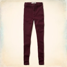 Hollister Natural Waist Ponte Leggings