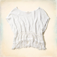 Hermosa Fringe Sweater T-Shirt