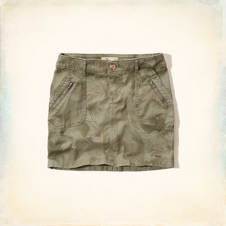 Hollister Military Mini Skirt