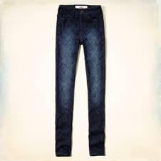 Hollister Ryan High Rise Super Skinny Jeans