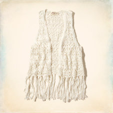 Boomer Beach Open Stitch Vest