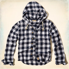 Ocean Beach Hooded Shirt