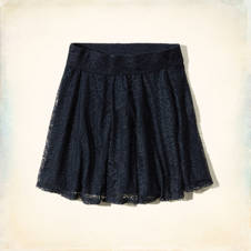 Warner Springs Lace Skater Skirt