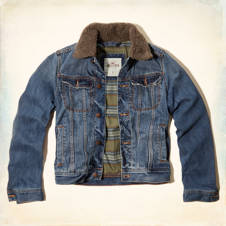 Arrow Point Denim Jacket